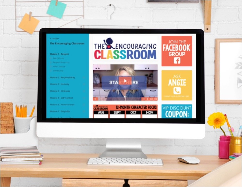If you'd like more morning meeting ideas, SEL lessons, and ideas for building relationships with your students, check out The Encouraging Classroom!