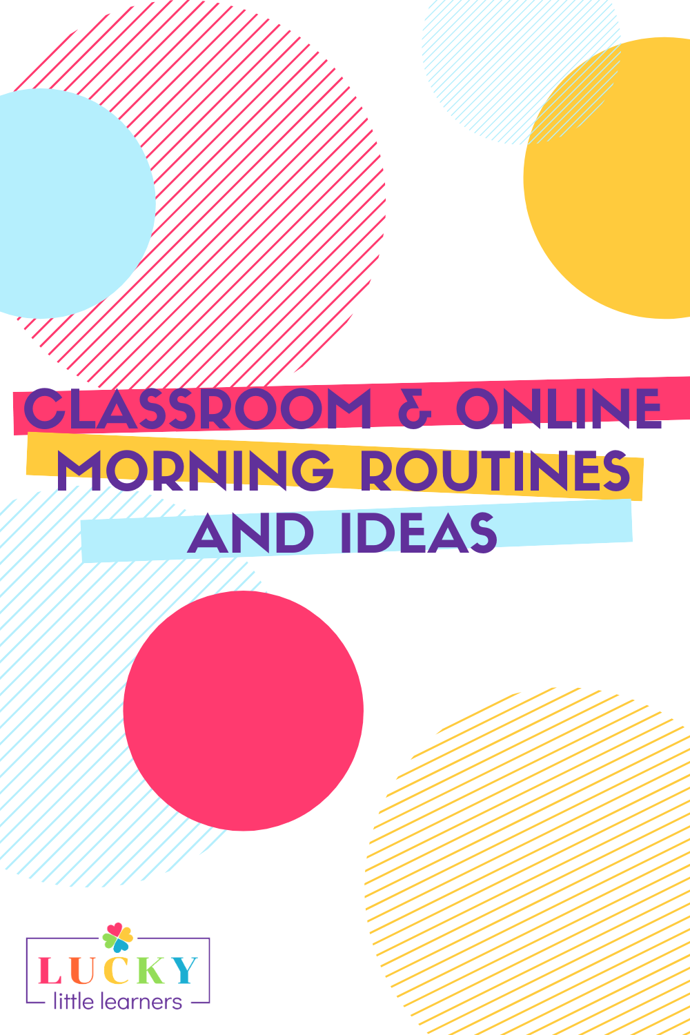 A classroom morning routine is going to be the key to starting the school day.  Routines provide students with a predictable structure that sets them up for success every single day.  Whether you are teaching in the classroom or online this year, we have gathered some morning routines and ideas for you to use with your students.