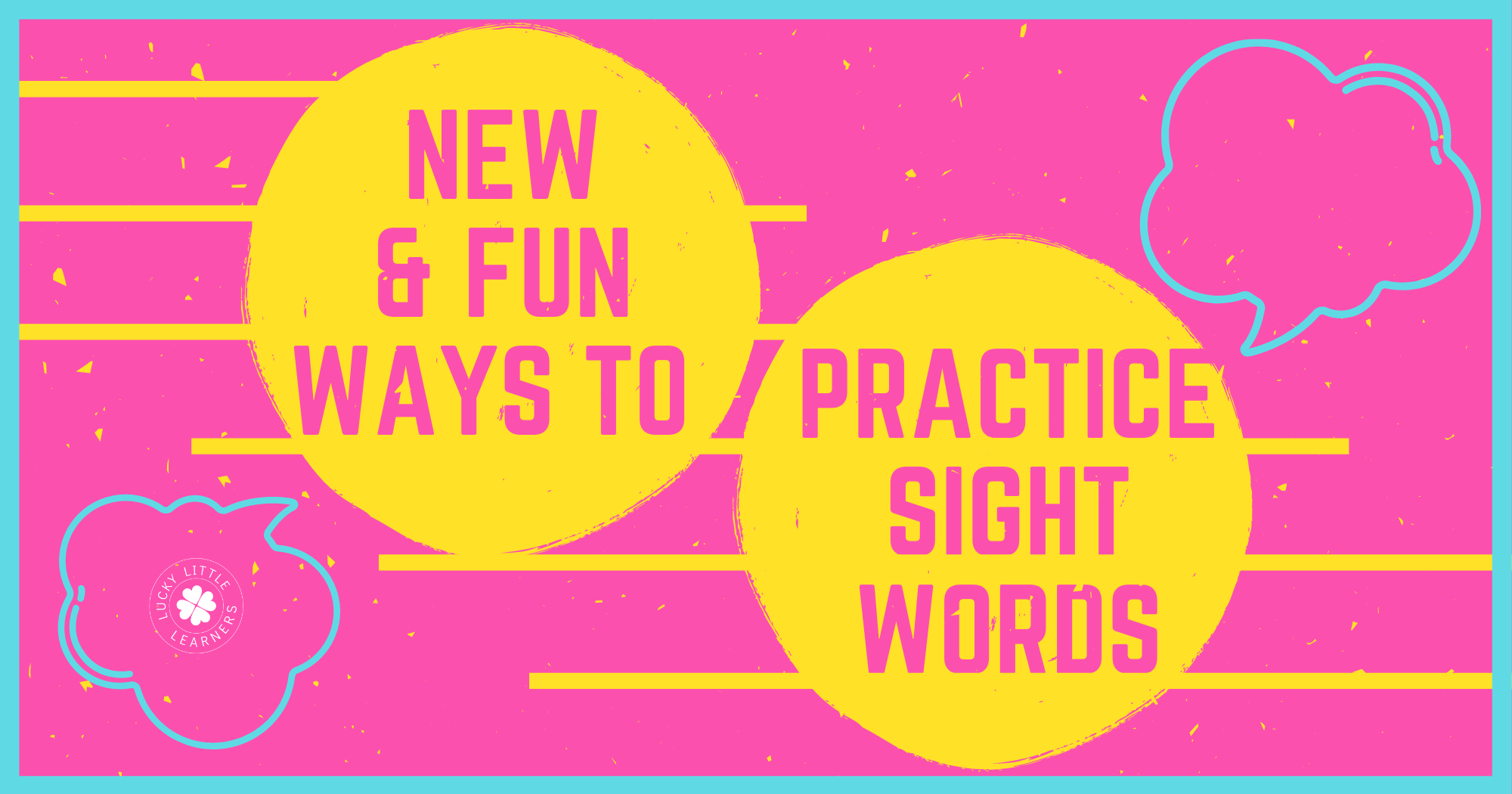 New and FUN Ways to Practice Sight Words