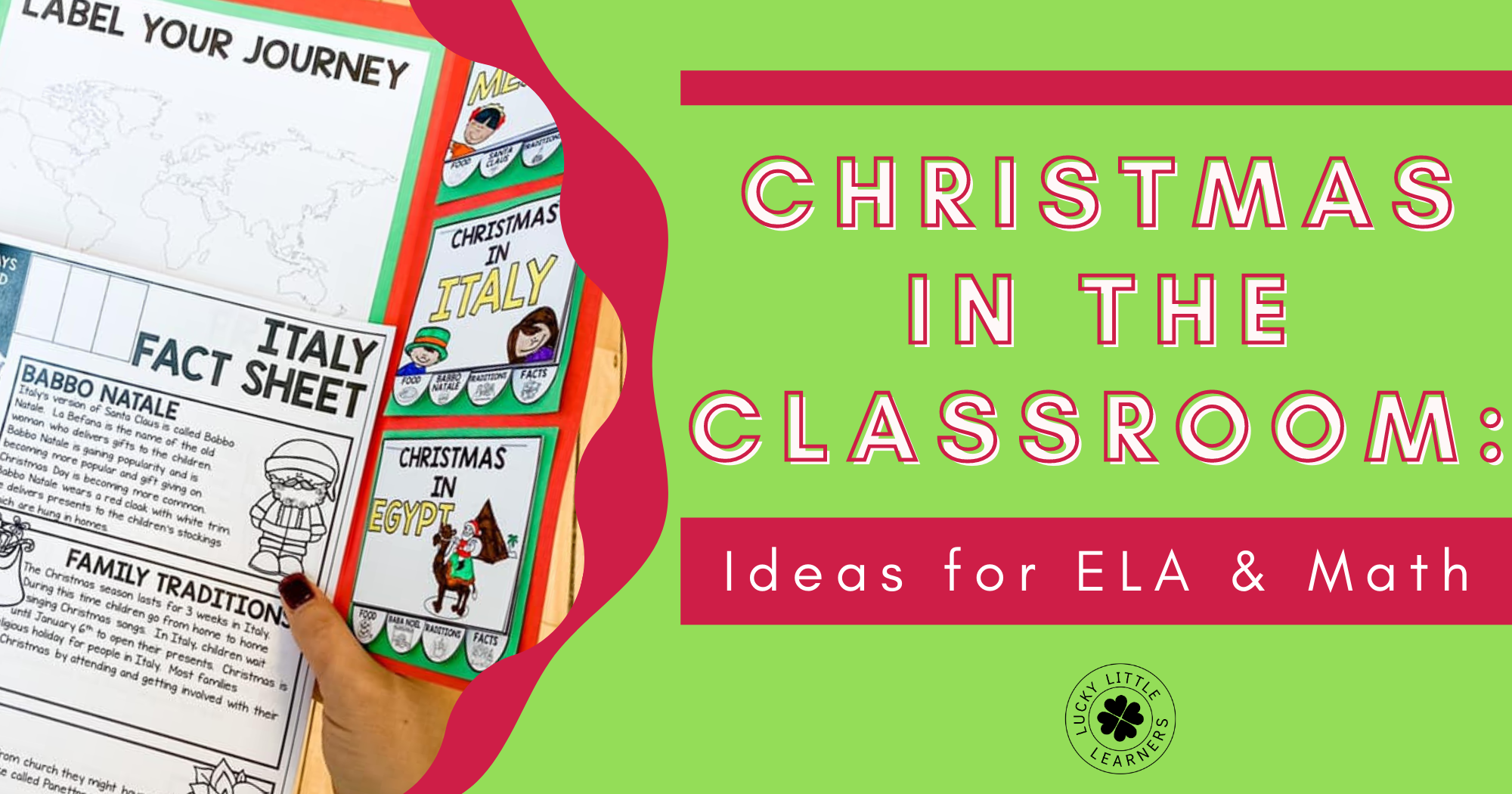 Christmas in the Classroom: Ideas for ELA and Math