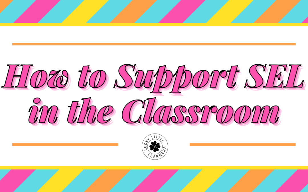 How to Support Social Emotional Learning in the Classroom