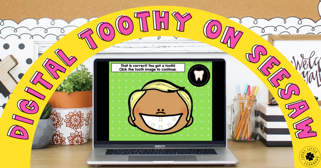 Digital Toothy Games for K-3rd Grades