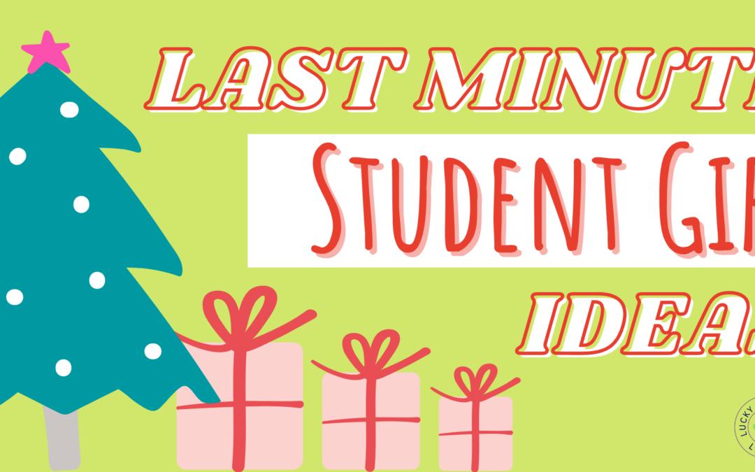 Last Minute Student Gift Ideas