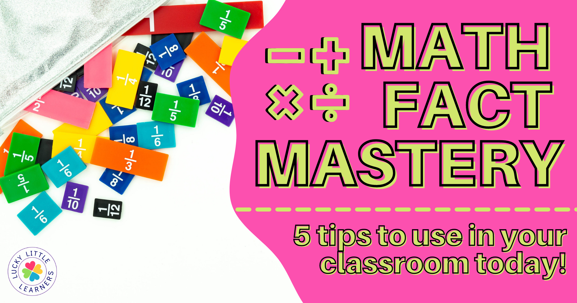 Math Facts Mastery:  5 Tips to Use in Your Classroom Today!
