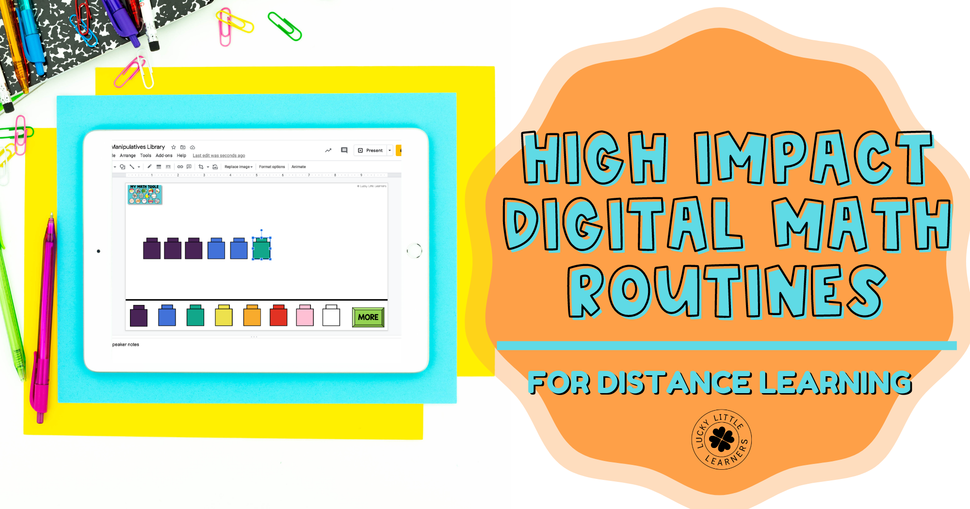High Impact Digital Math Routines for Distance Learning