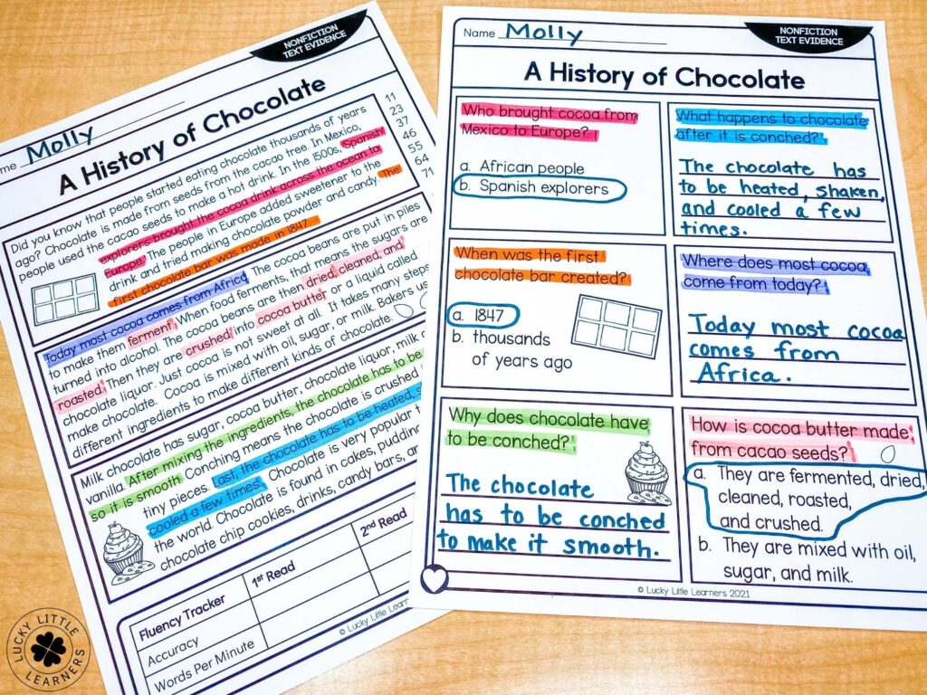color-coding-nonfiction-text-evidence