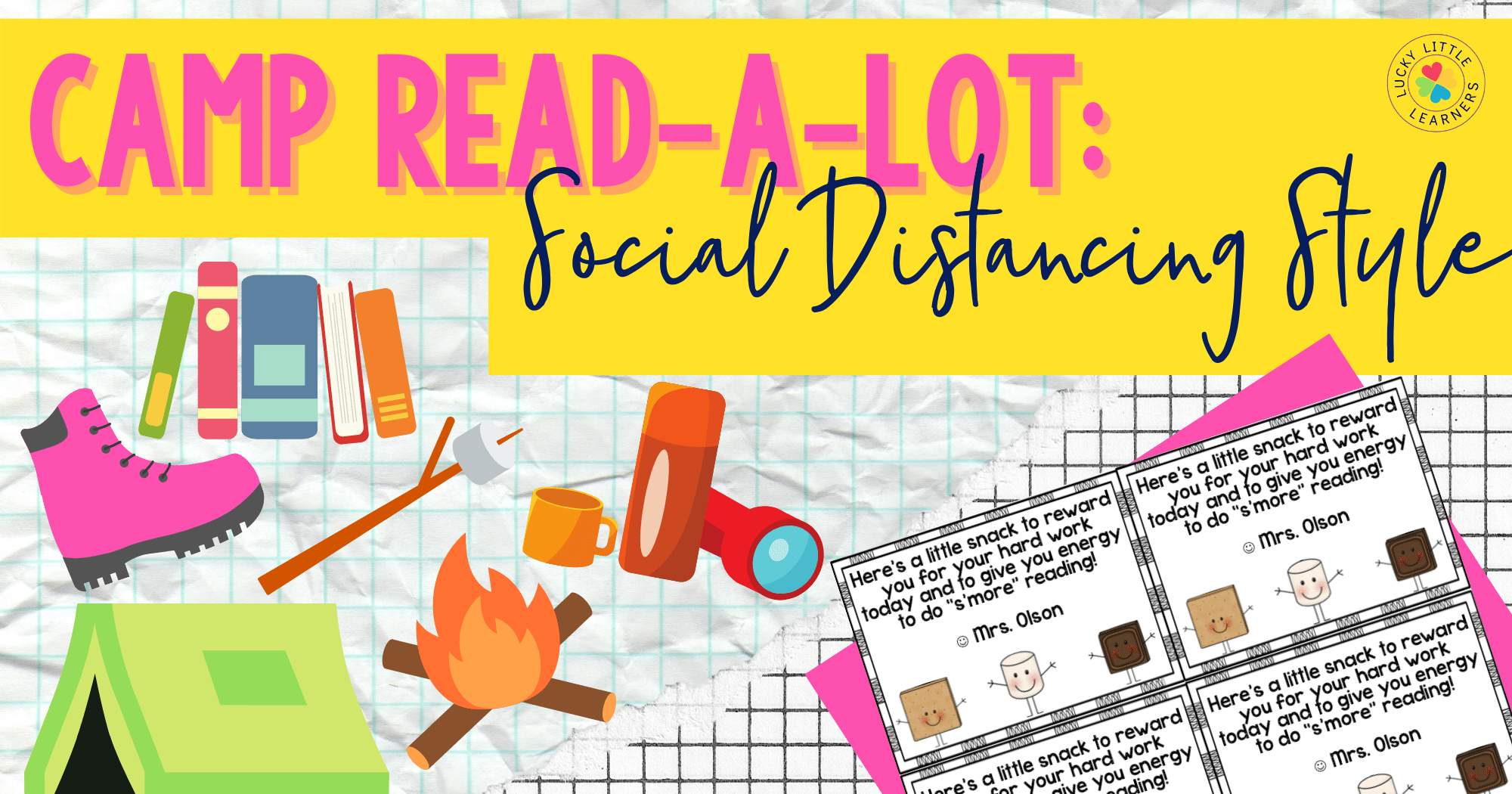 Camp Read-a-Lot: Social Distancing Style