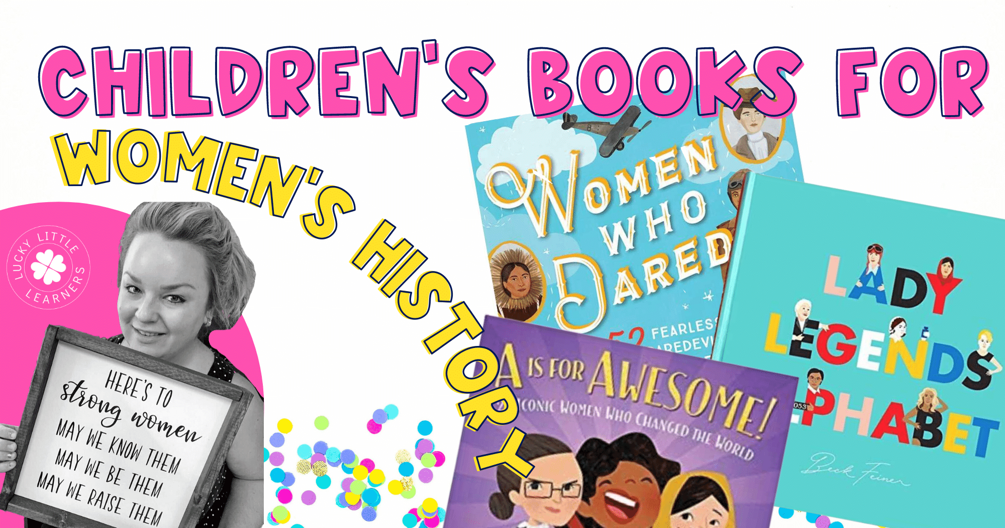 2nd Grade Read Alouds About Women's History