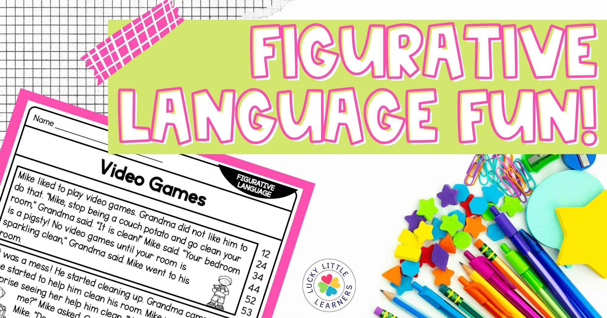 Figurative Language Fun!