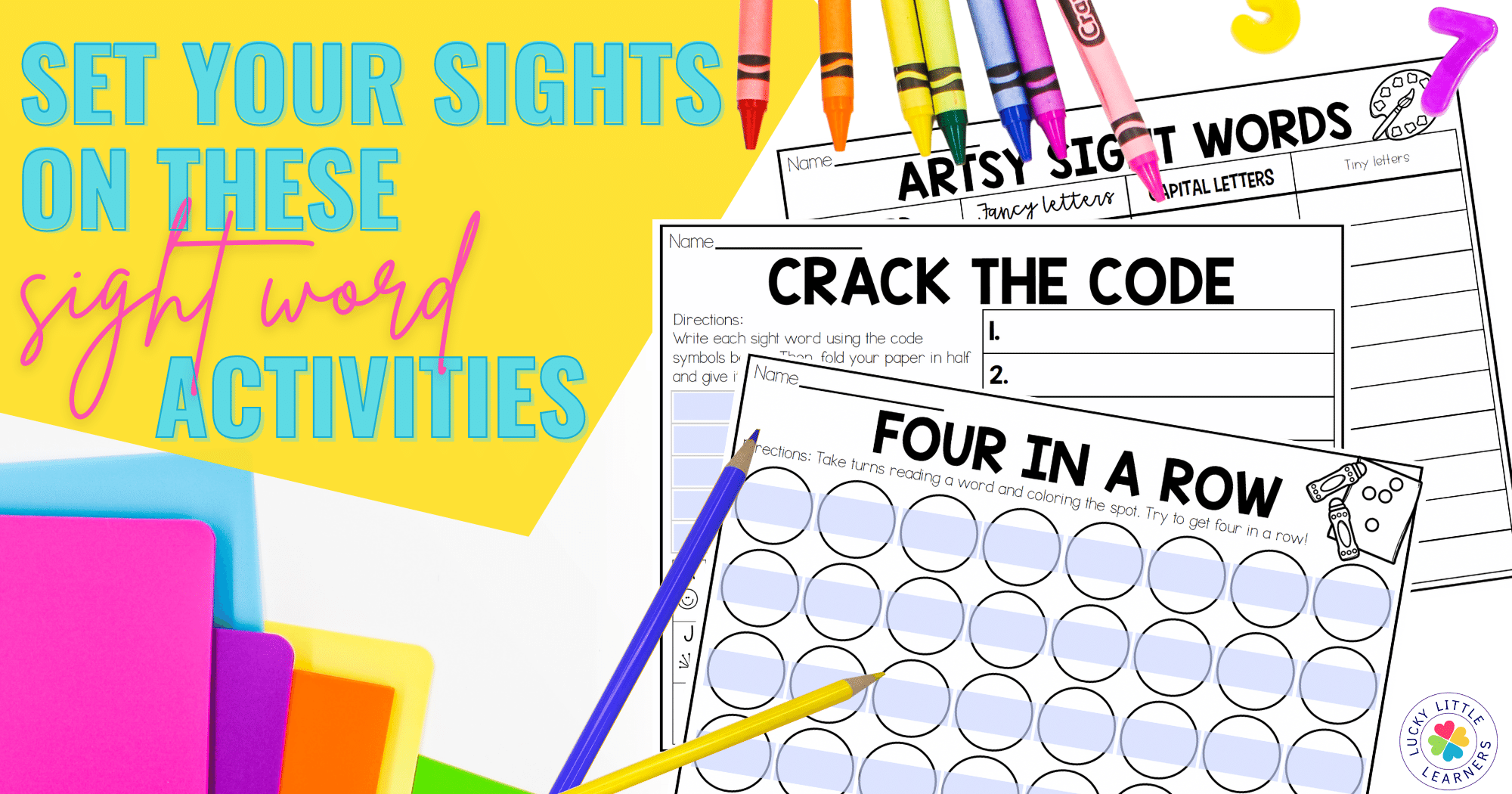 Set Your Sights on These Sight Words Activities