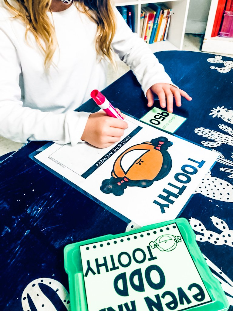 Toothy Task Cards for Fun At-Home Learning