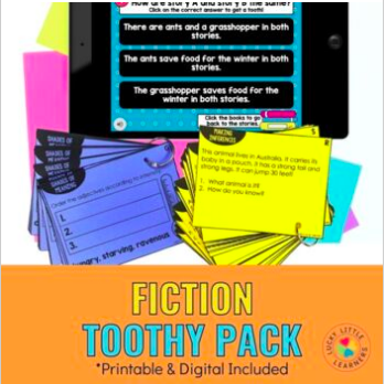 fiction toothy pack