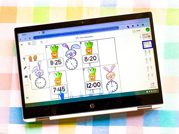 Check out these ideas for offering math centers that fit into a springtime theme!
