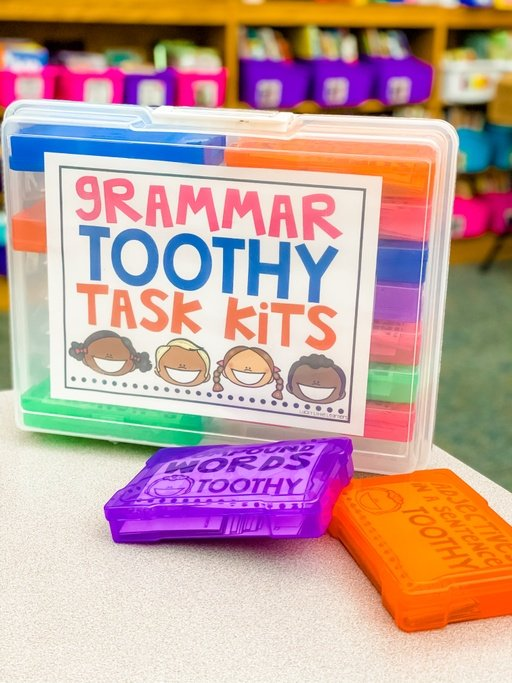 toothy task kit storage