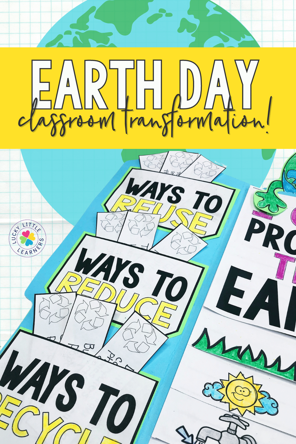 Want to amp up the Earth Day celebration in your classroom? Try out an Earth Day classroom transformation!