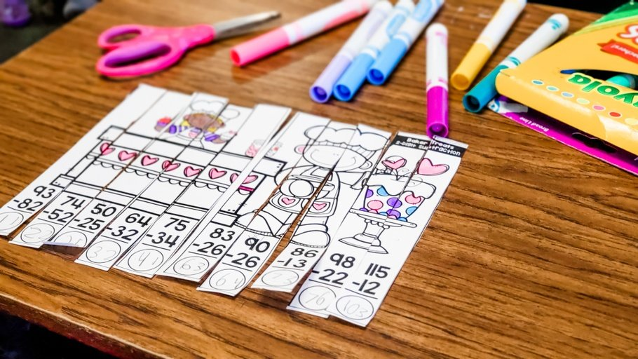 math puzzles for teaching sequencing