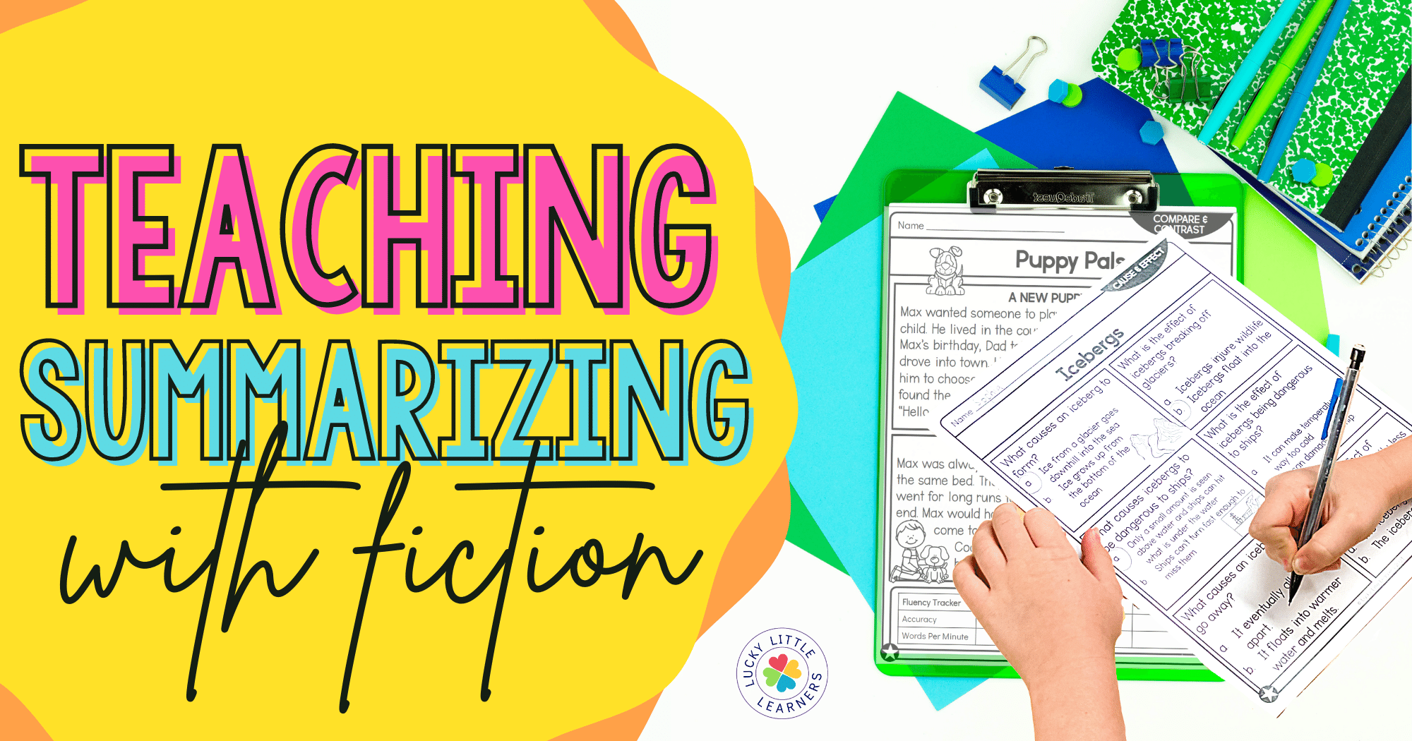 Teaching summarizing with fiction text