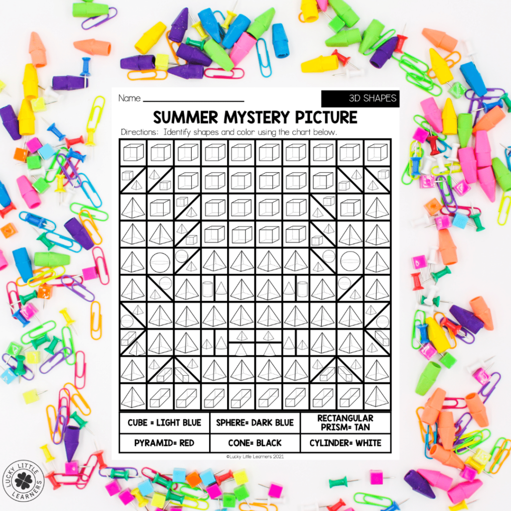This summer review packet contains activities for math, ELA, Social Studies, Science, Art and SEL to review and practice skills from your second-grade standards. Each worksheet is different and brings a bit of fun to the learning as well! Your students will be eager to grab their crayon or pencil and get to work!