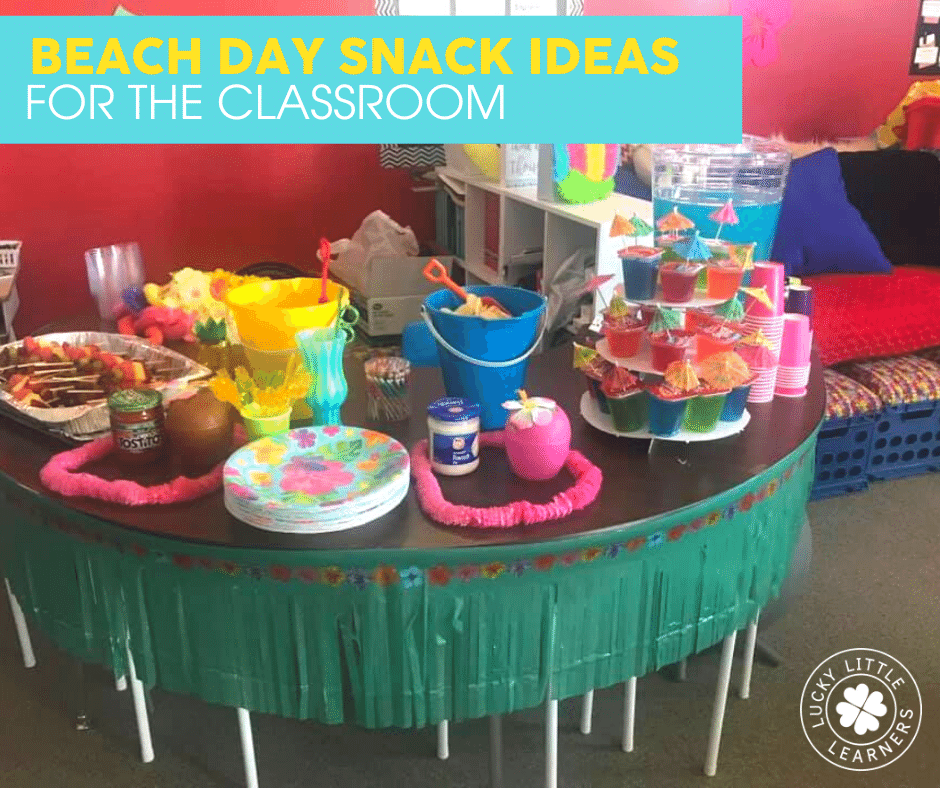 beach day snack ideas