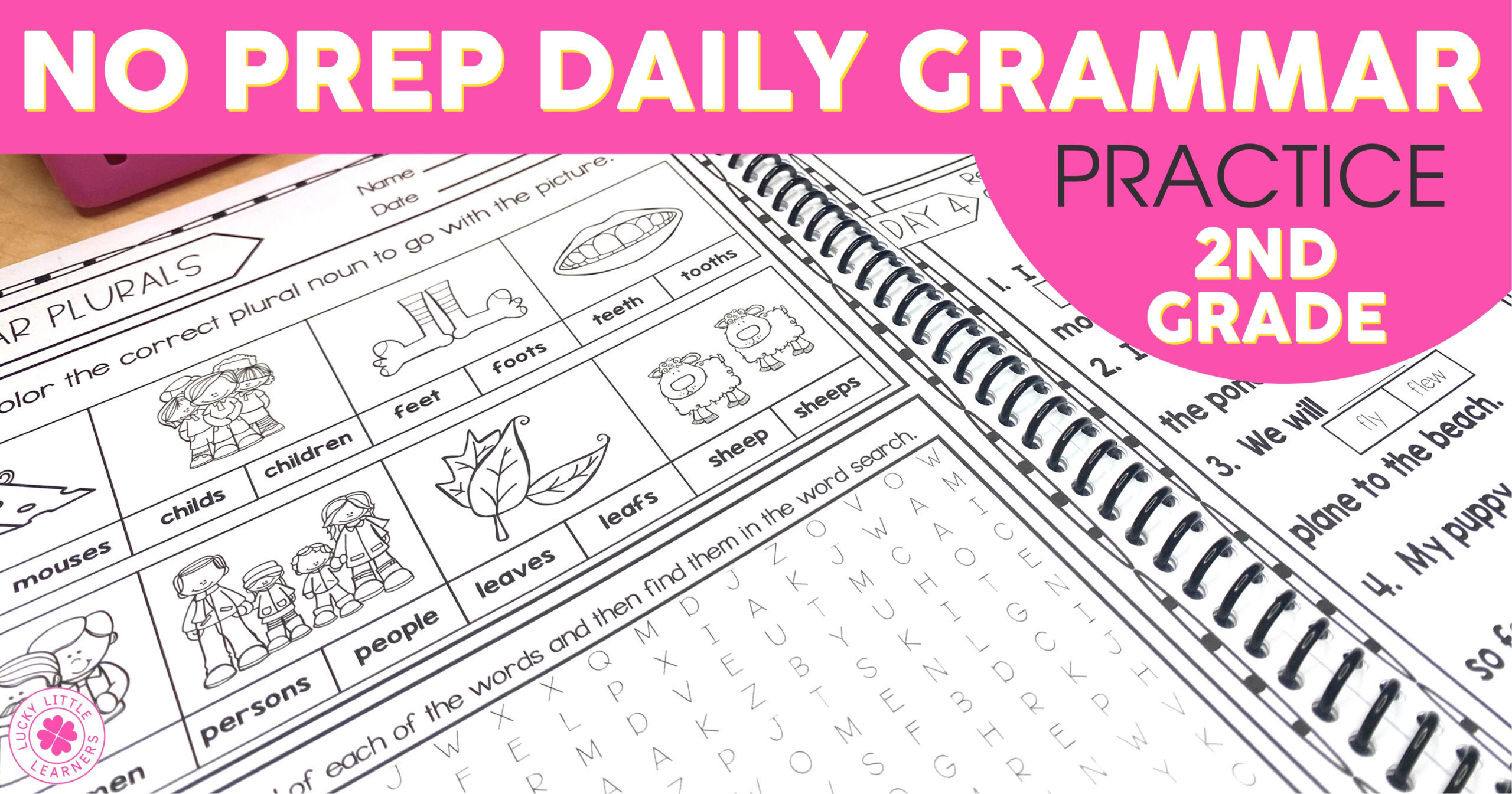 No Prep Daily Grammar Practice in 2nd Grade