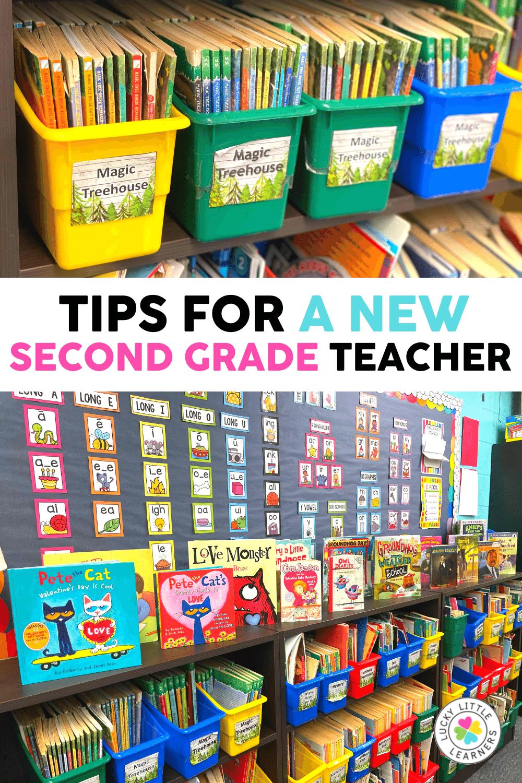 organizational tips for a new 2nd grade teacher