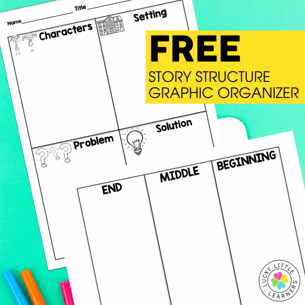 free story structure graphic organizer
