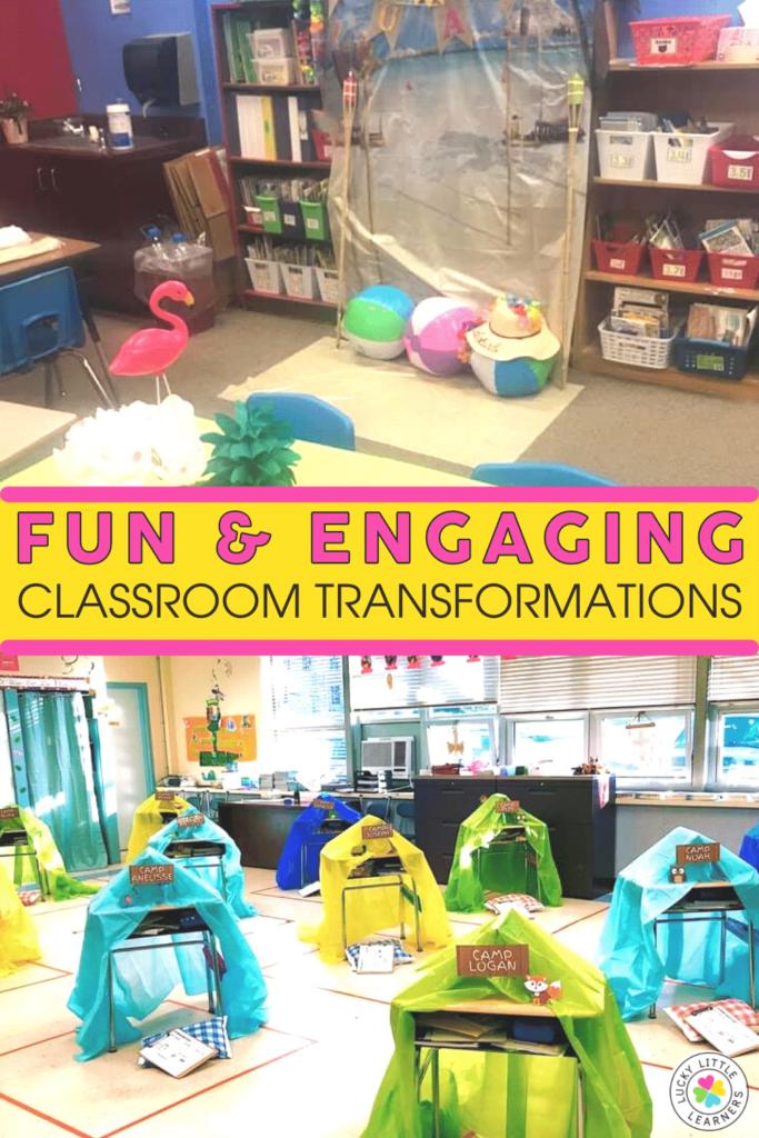 camp read a lot classroom transformation
