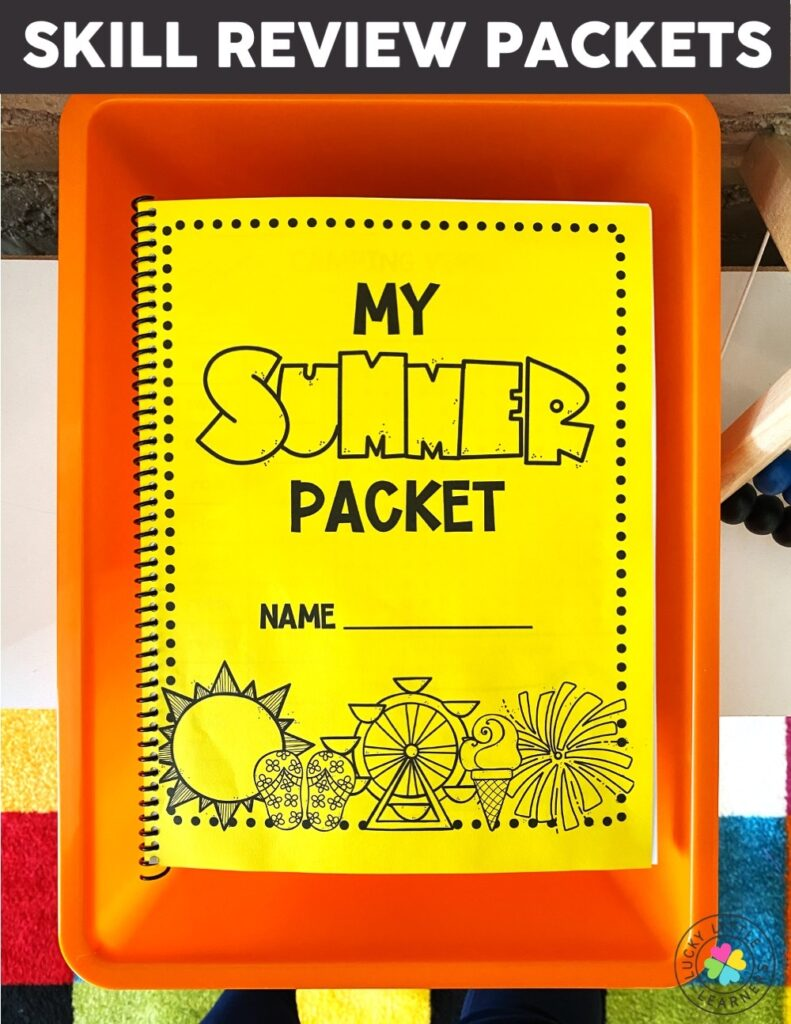 As the summer looms ahead we are always crossing our fingers hoping that all our students learned doesn't slip away! Send this summer review packet home at the end of the year so you know that their learning isn't stopping as they step out your classroom doors!