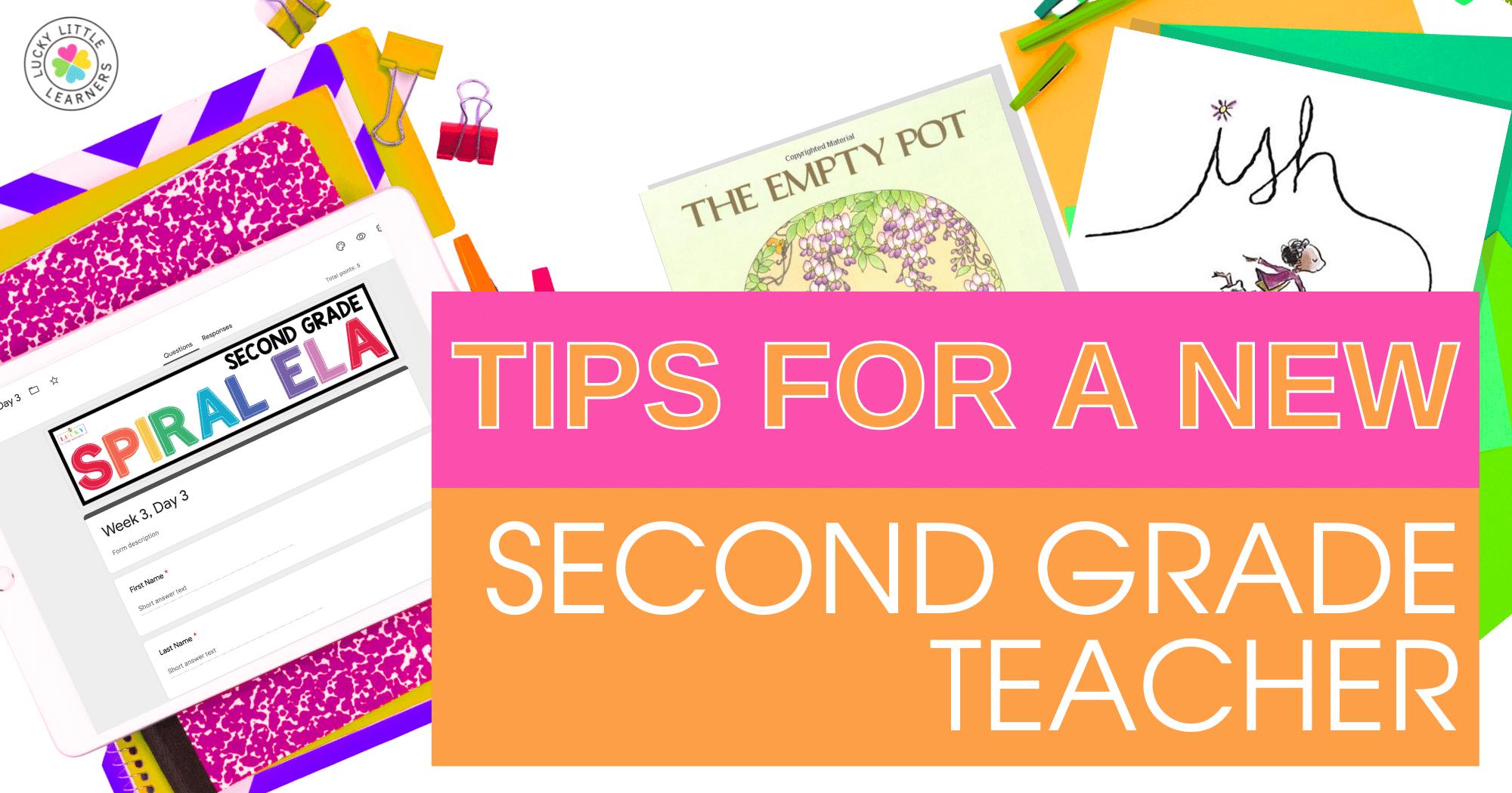 Tips For a New 2nd Grade Teacher