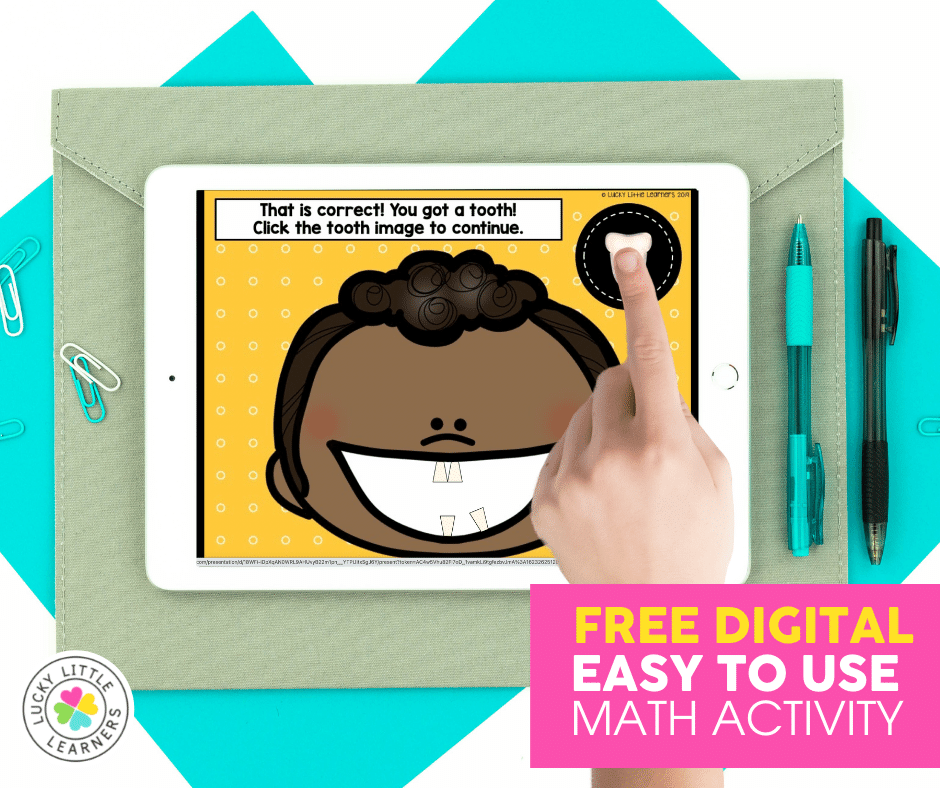 free digital easy to use toothy math game