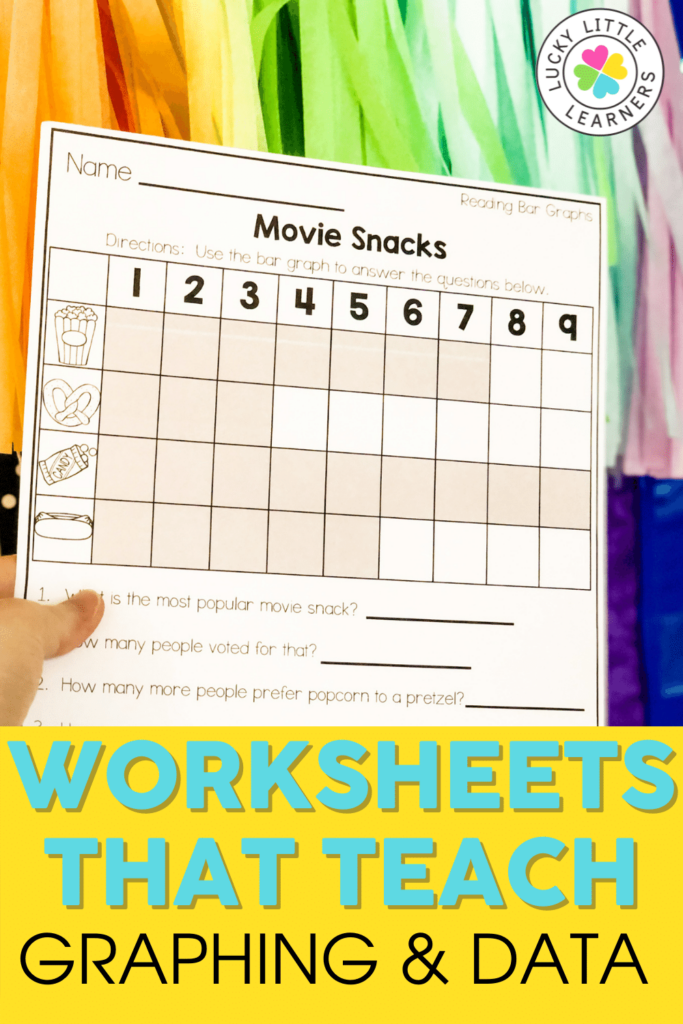 bar graph worksheet for 2nd grade