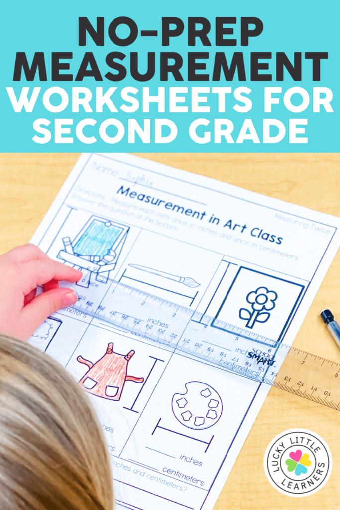 printable second grade measurement worksheet
