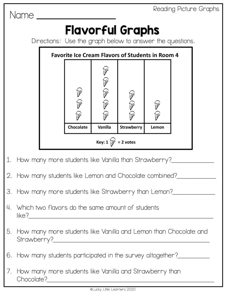 ice cream graphing worksheet