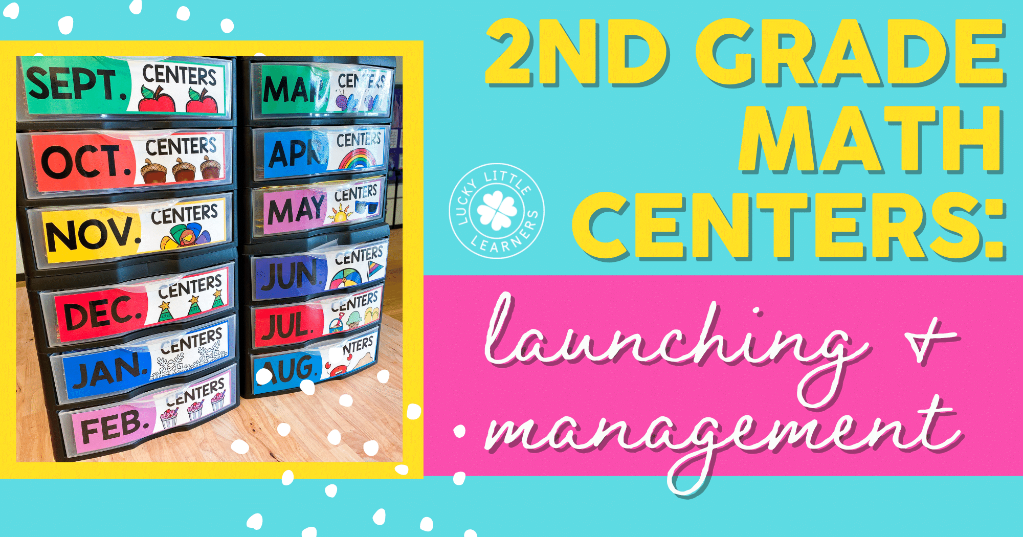 2nd Grade Math Centers: Launching & Management