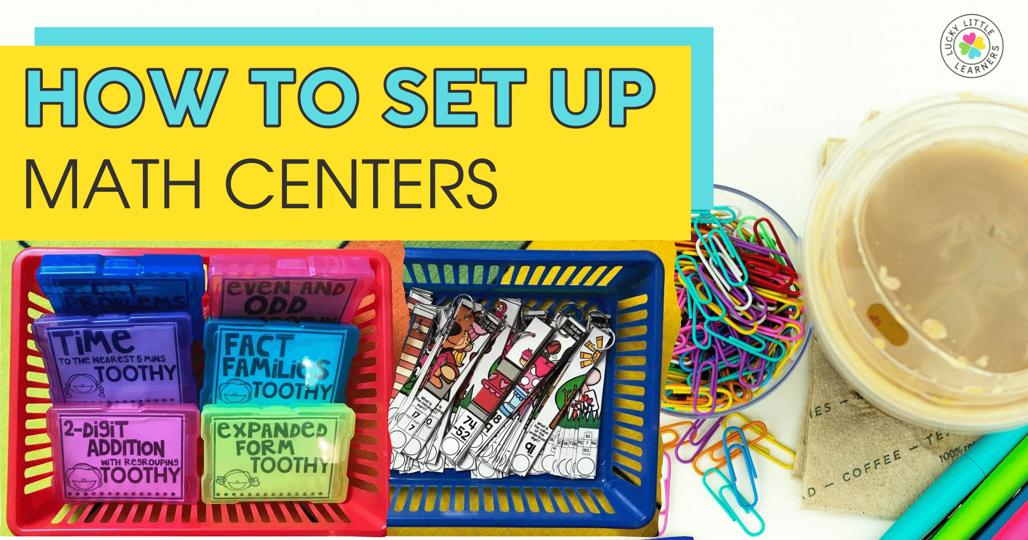 How to Set Up Math Centers