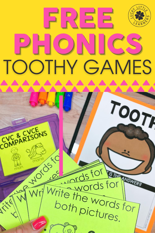 free phonics games