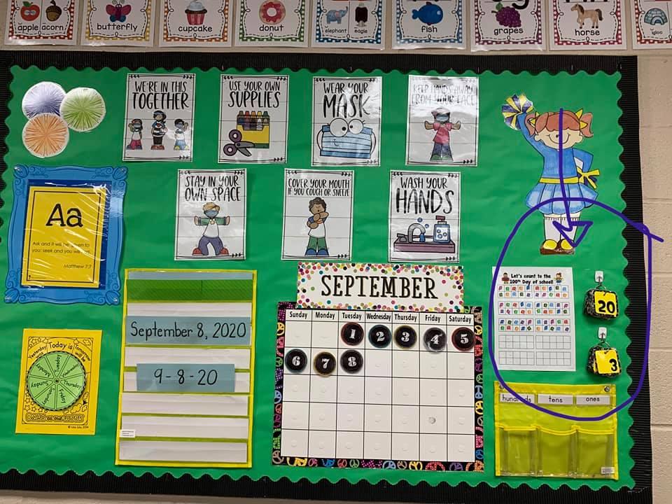 class helper bulletin board
