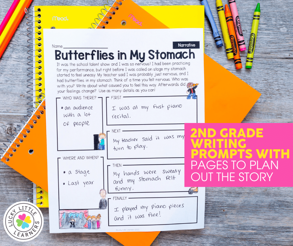 2nd grade planning page