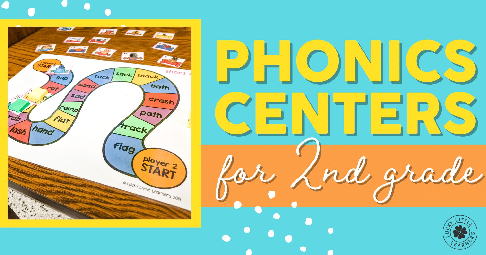 Phonics Centers for Second Grade
