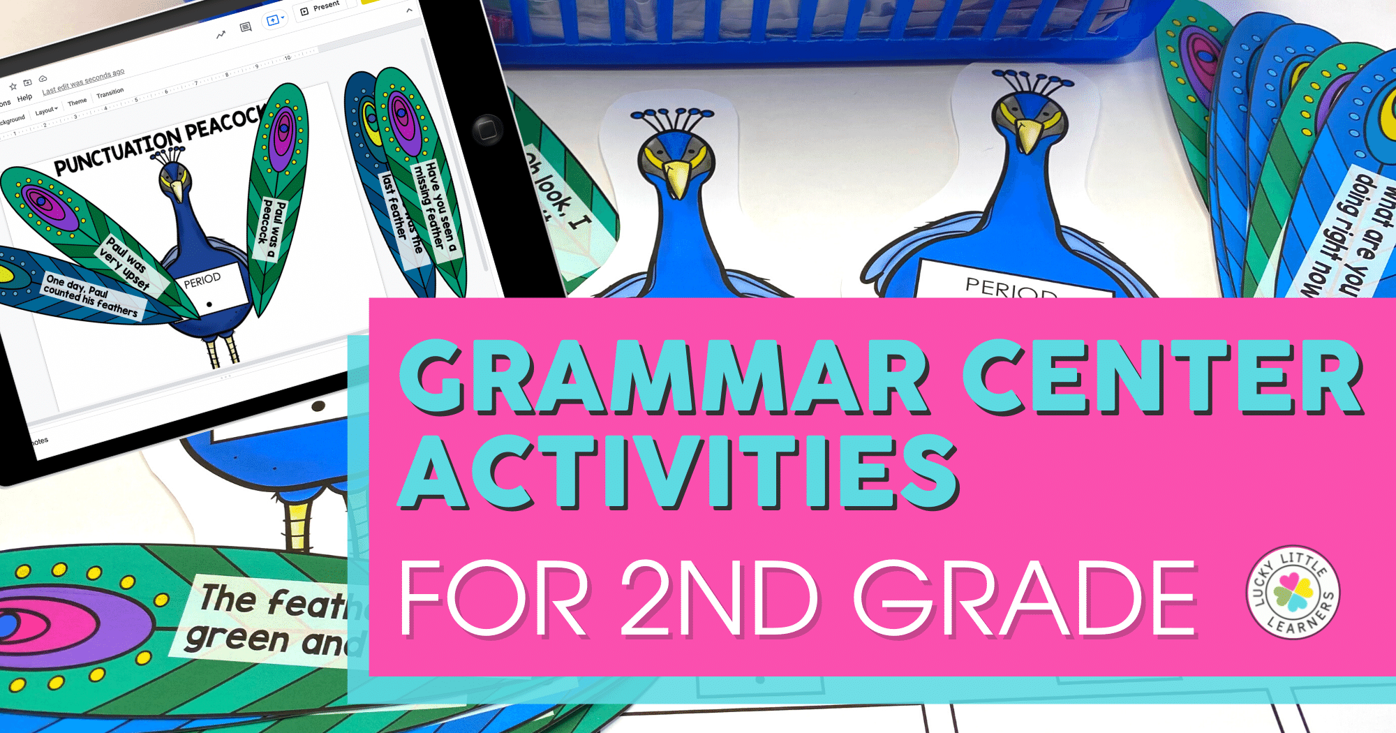 Grammar Center Activities for 2nd Grade