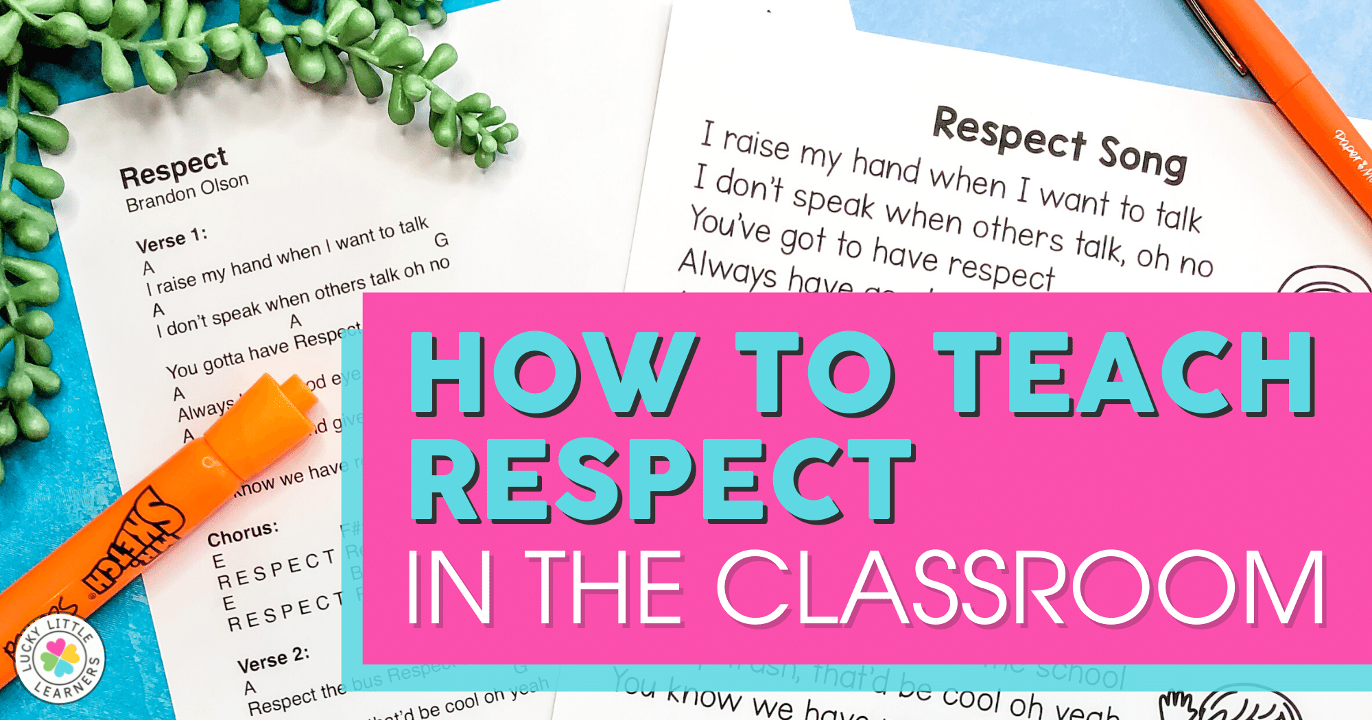 How to Teach Respect in the Classroom