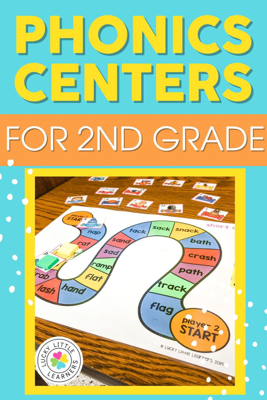 second grade phonics centers
