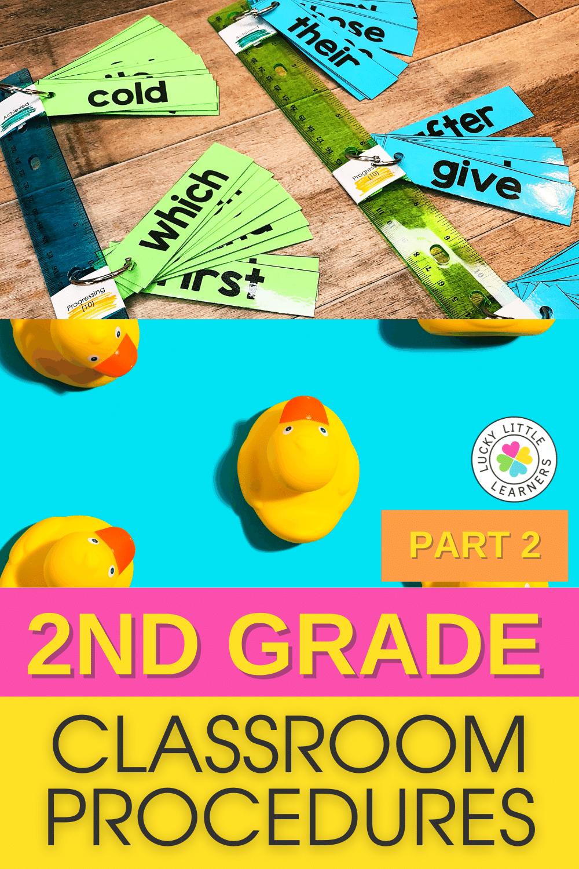 2nd grade classroom procedures