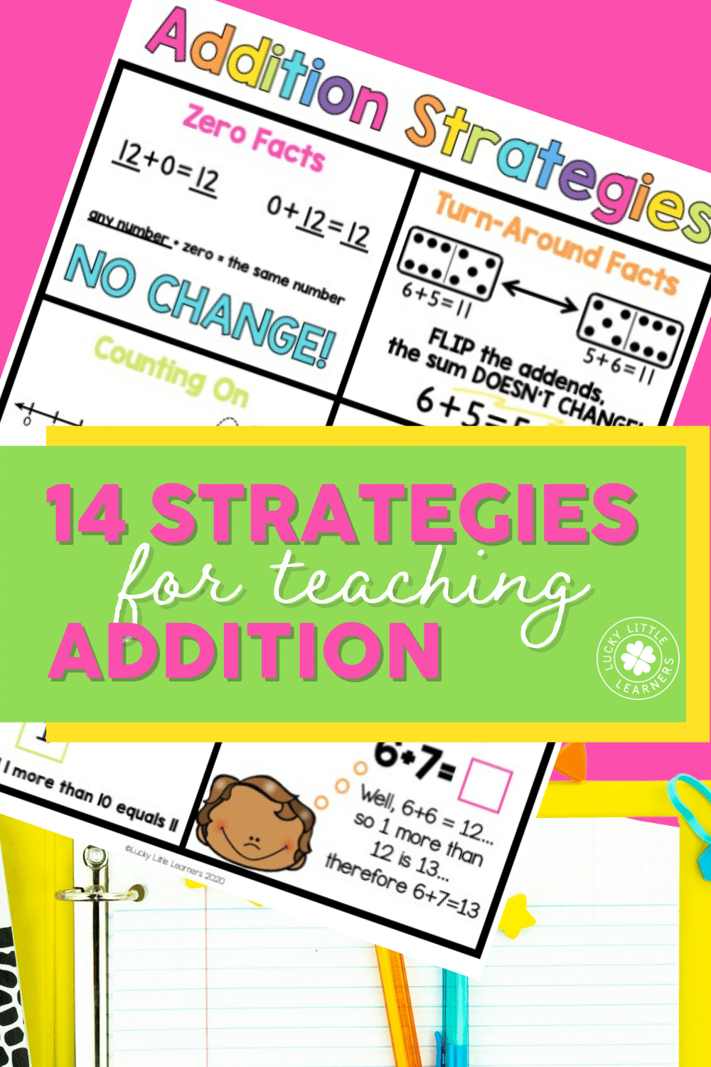 14 strategies for teaching addition