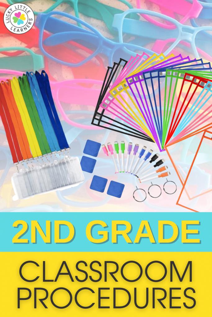 2nd grade classroom procedures and ideas