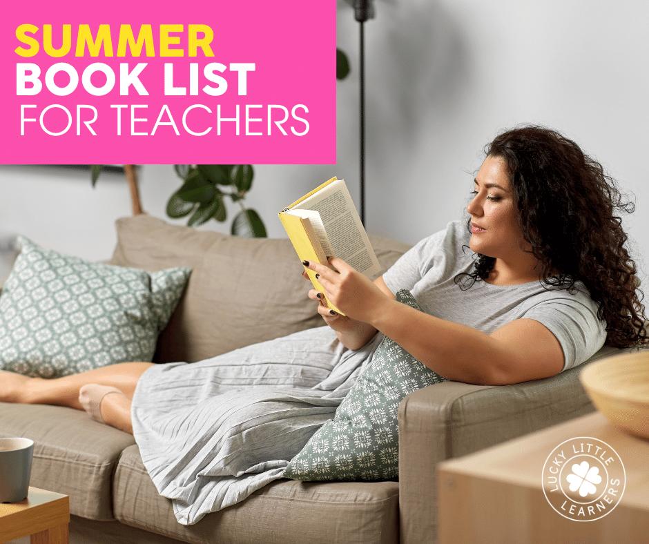 summer book list for teachers