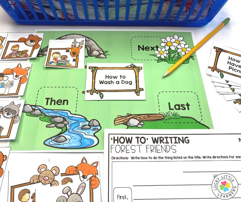 how to writing center game for 2nd grade classrooms