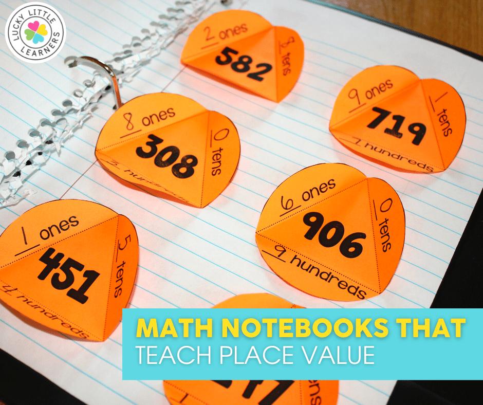 math notebooks that teach place value