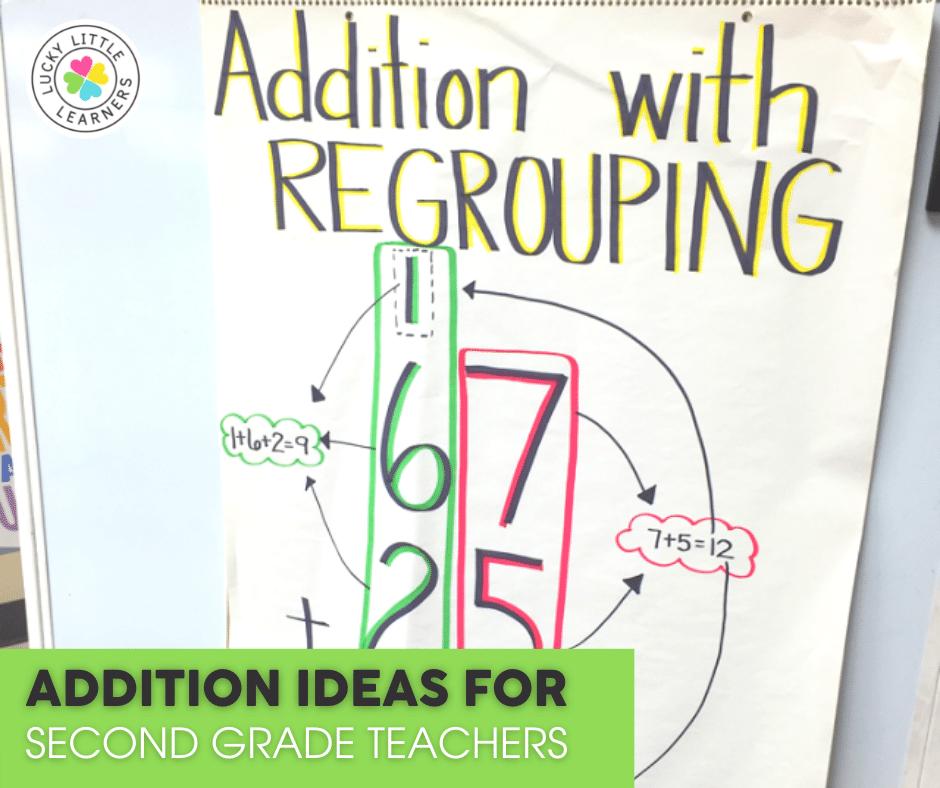 Addition Ideas for 1st & 2nd Grade Teachers