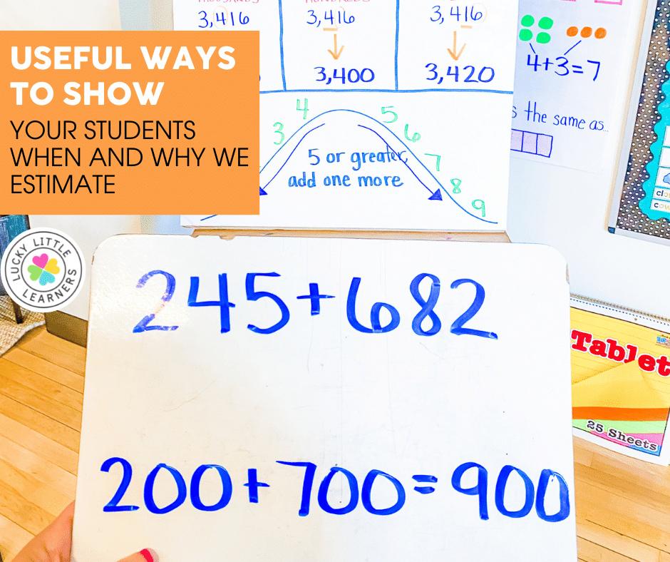 estimation as a strategy for teaching addition